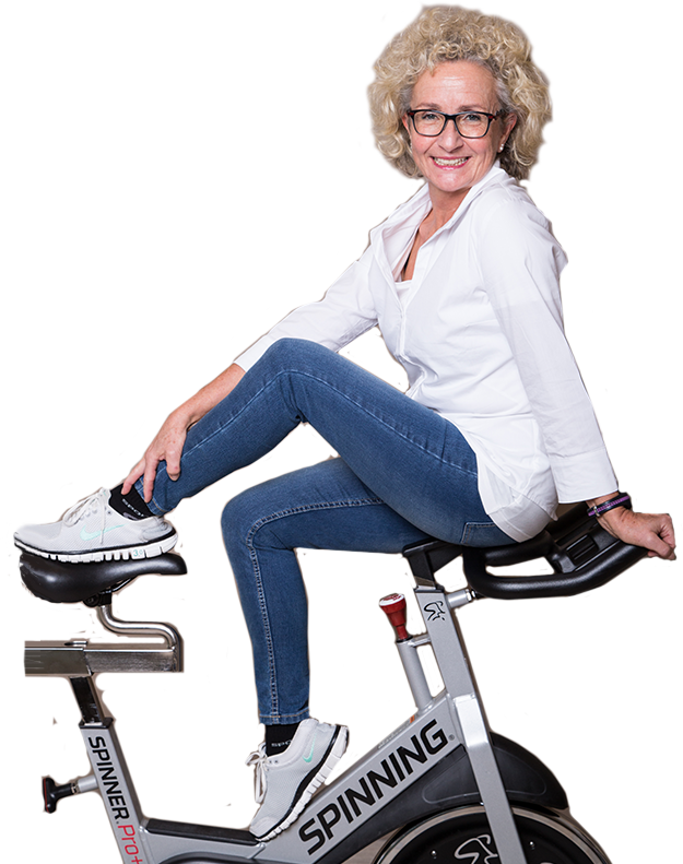 Spinning- und Group-Fitness-Trainerin Jutta Wieser